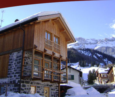 Chalet Royal, posizione inverno