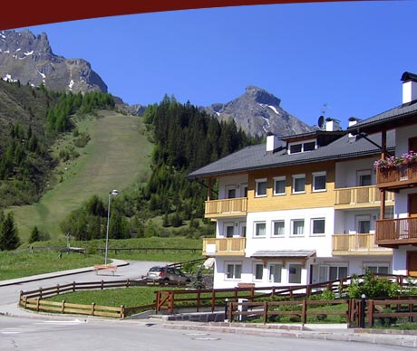 Apartments Alpenroyal, summer position